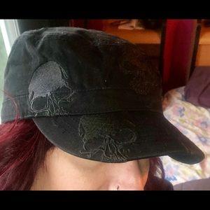 Accessories - Cadet style Skull Hat